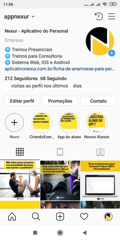 Estratégia de marketing para personal trainer usando o Instagram