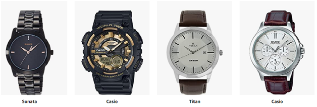 Top Branded Men's Watches