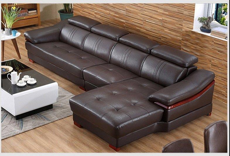 Sofa được làm bằng chất liệu da