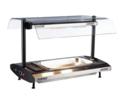 carvey hot display 1 tray
