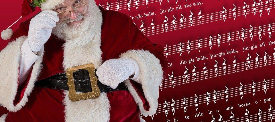 Santa, Navidad, Noel, Cascabeles, Canción, Villancico