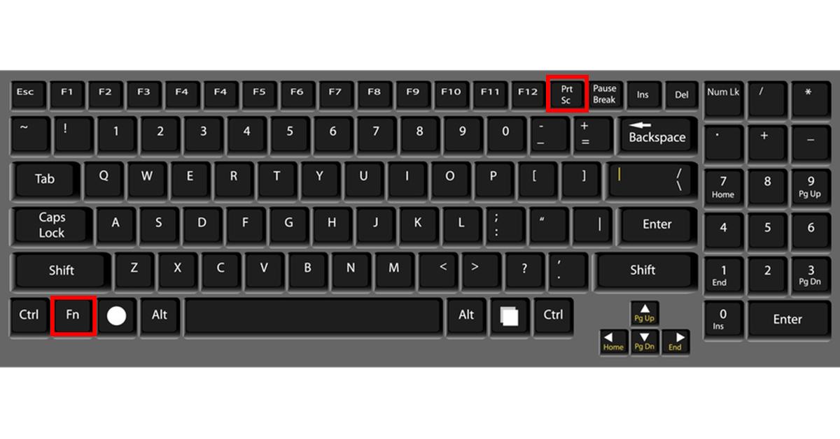cách sử dụng phím chụp màn hình laptop