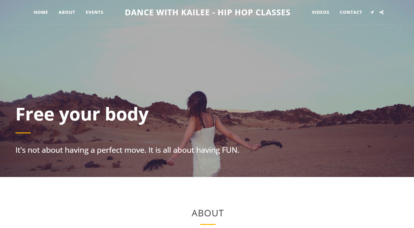 DANCE WITH KAILEE - HIP HOP CLASSES