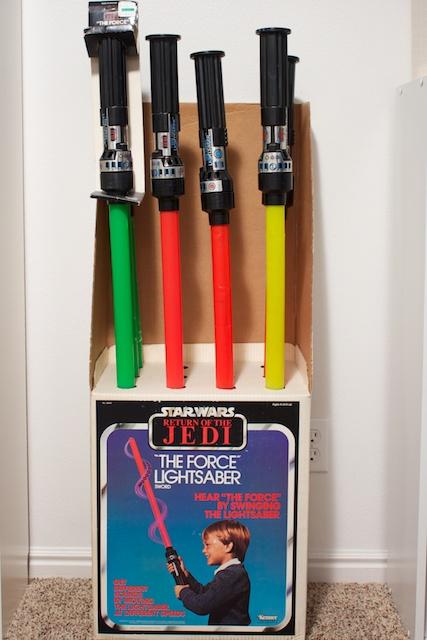 Image result for vintage force lightsaber display