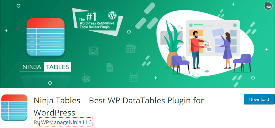 Ninja Tables best WP Table Builder alternatives