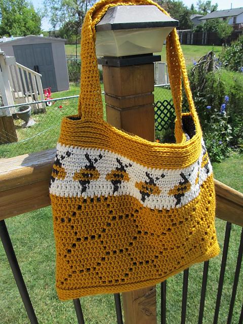 Beehive Bag Crochet Pattern
