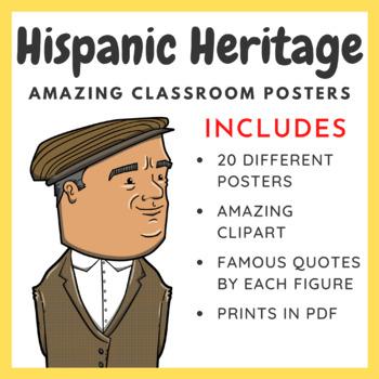 Hispanic Heritage: 20 Inspirational Posters