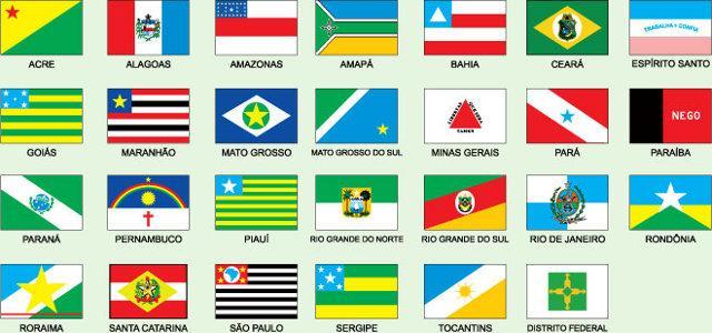 Resultado de imagem para bandeiras dos estados brasileiros