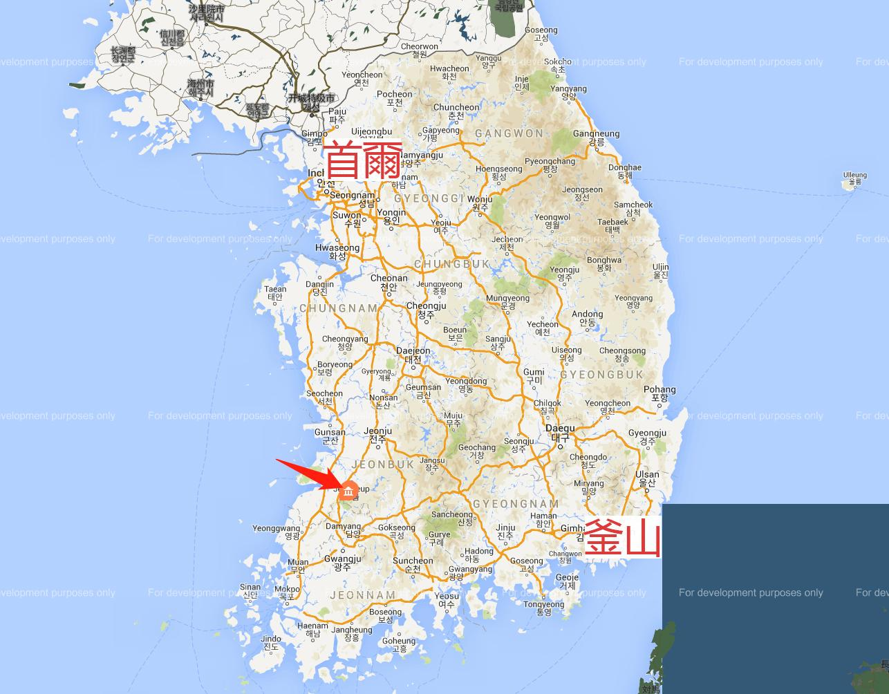 內藏山地圖