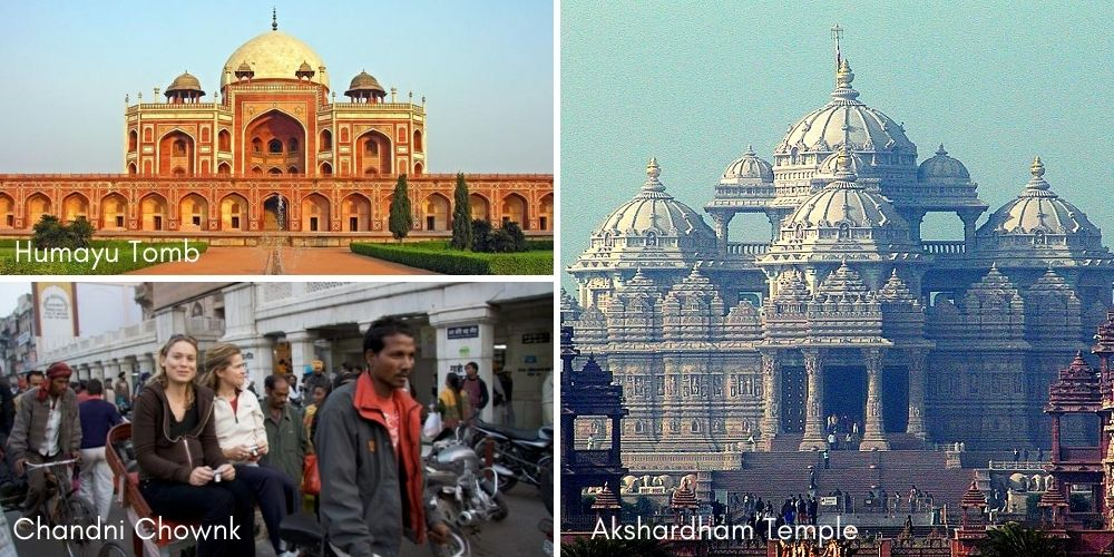 visiting places in delhi