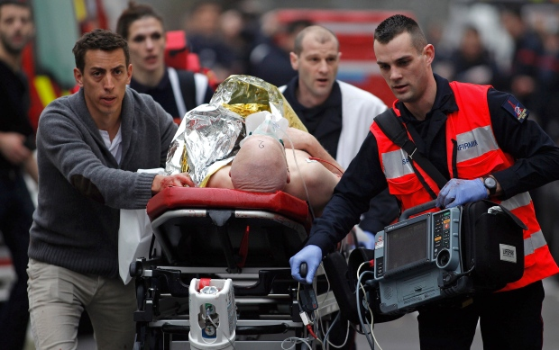 Gunmen attack Charlie Hebdo office, grocery store