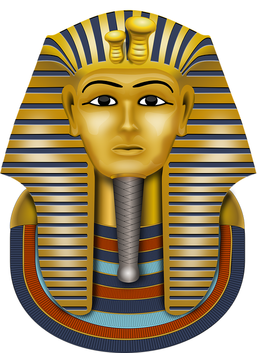 Tutankhamun, Gold Mask, Mask