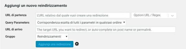 """Come Fare Un Redirect Su WordPress - Immagine """"Fondo Pagina"""""""