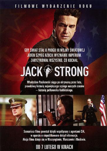 Tył ulotki filmu 'Jack Strong'