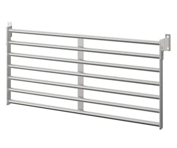 stainless steel wall rack for  kitchen items