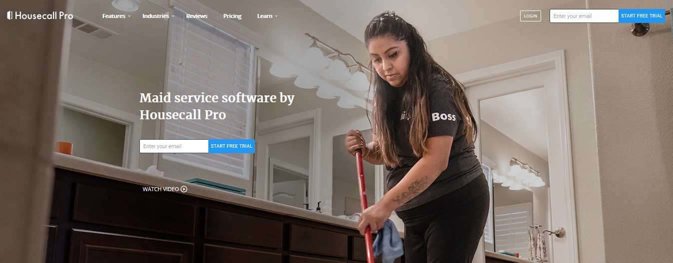 Housecall Pro website