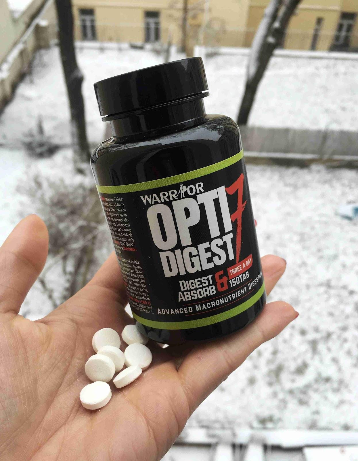 Recenze NaMaximum: Trávicí enzymy Opti 7 Digest