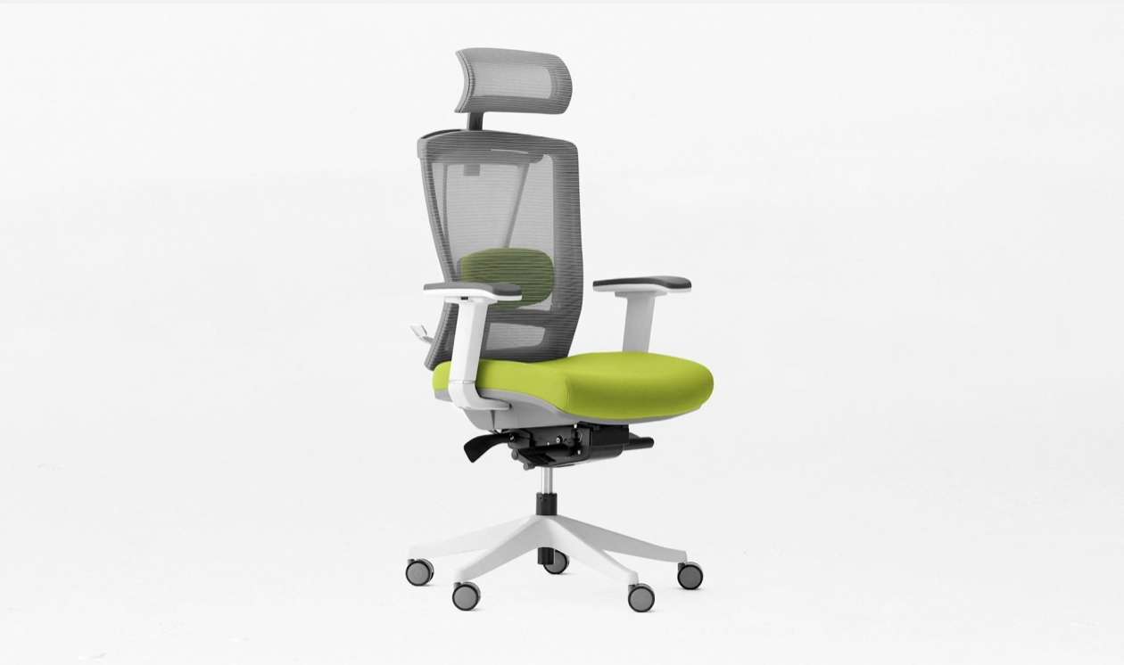 autonomous ergo chair 2 in lime green for animators