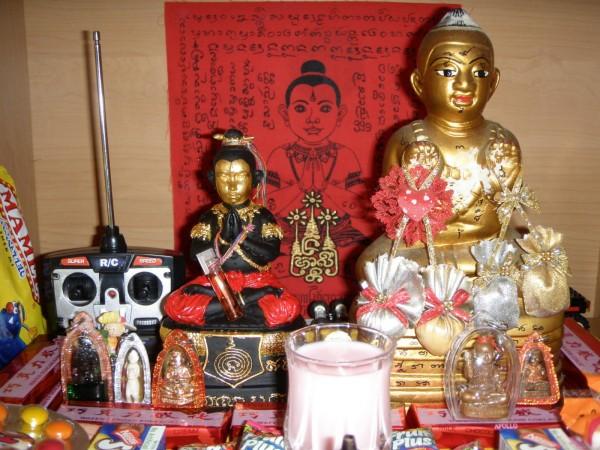 Bùa Quỷ Linh Nhi hay còn gọi là bùa Kuman Thong.