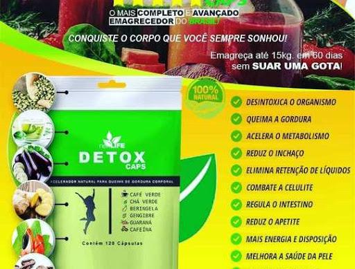 detox caps corta o efeito do anticoncepcional