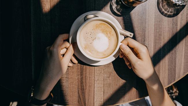 Drink caffeine