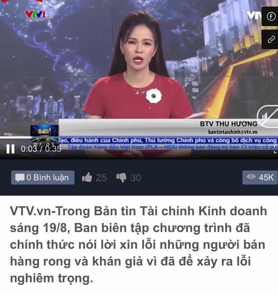 VTV XIN LỖI NHƯ VẬY LÀ CHƯA ĐỦ!