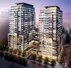 Axiom Condos by Kirkor Architects for Greenpark and Fieldgate