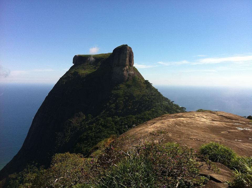Natureza, Pedra Da Gávea, Paisagem, Pedra, Rocha
