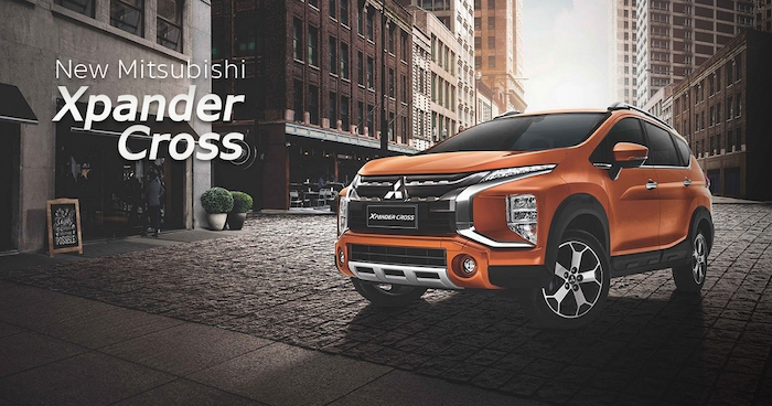 Mitsubishi Xpander Cross 2020 ถูกเปิดตัวผ่านสื่อออนไลน์