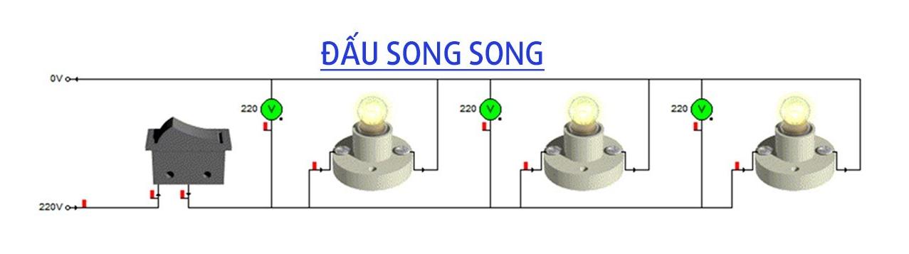 Mạch điện mắc song song