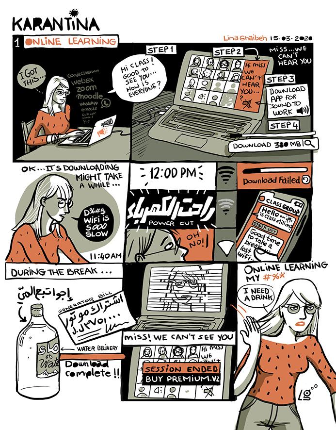The Perils of Teaching Online