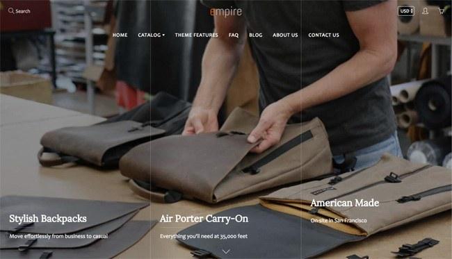 Galleria - premium Shopify theme