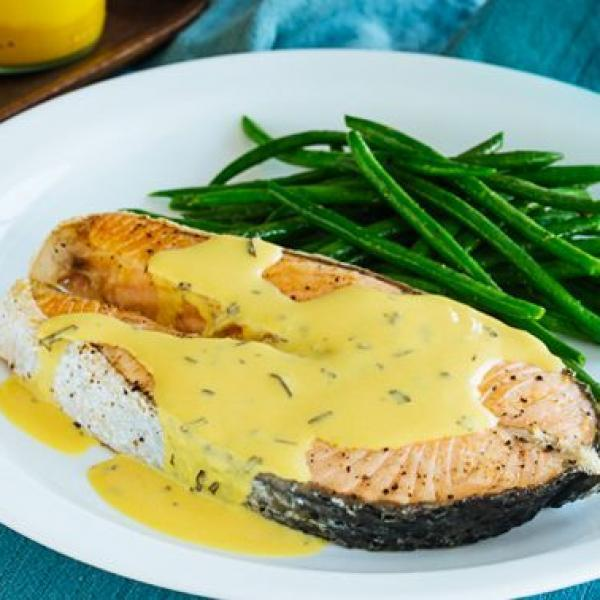 one-pot meals to try pan-seared salmon with mustard cream sauce
