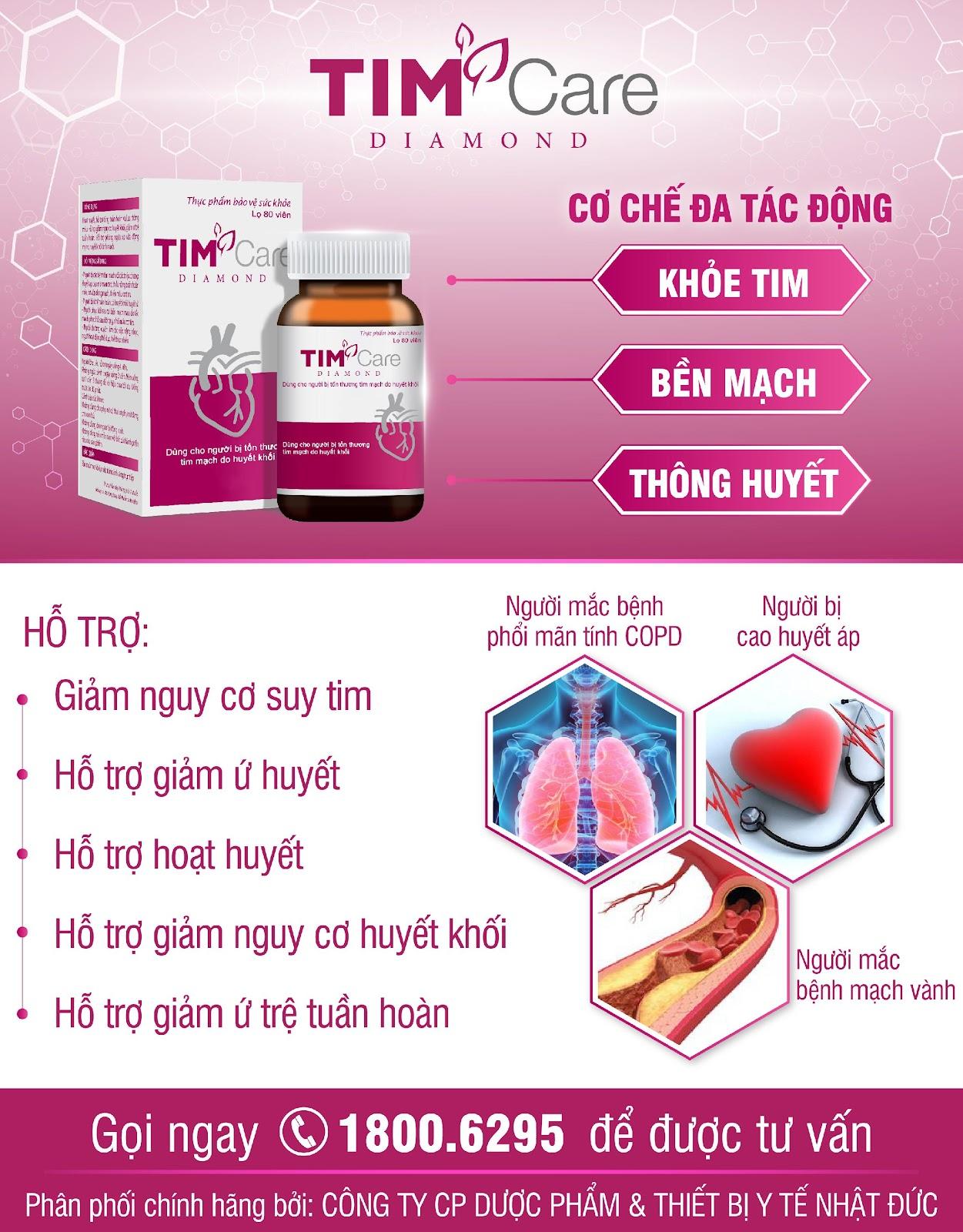 TIM Care Diamond – Bảo vệ trái tim vàng - Ảnh 5