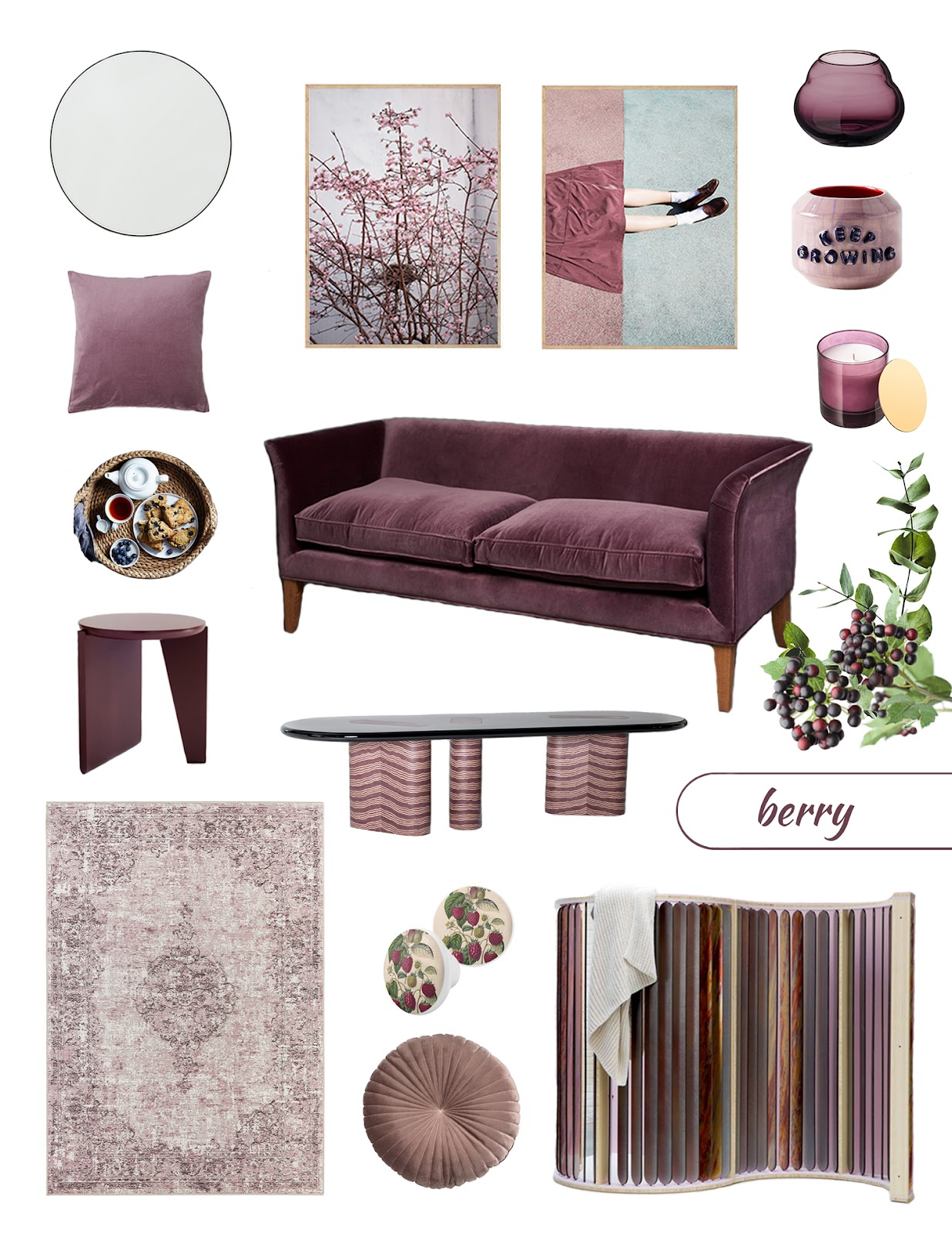 Color trends 2021: Dark purple
