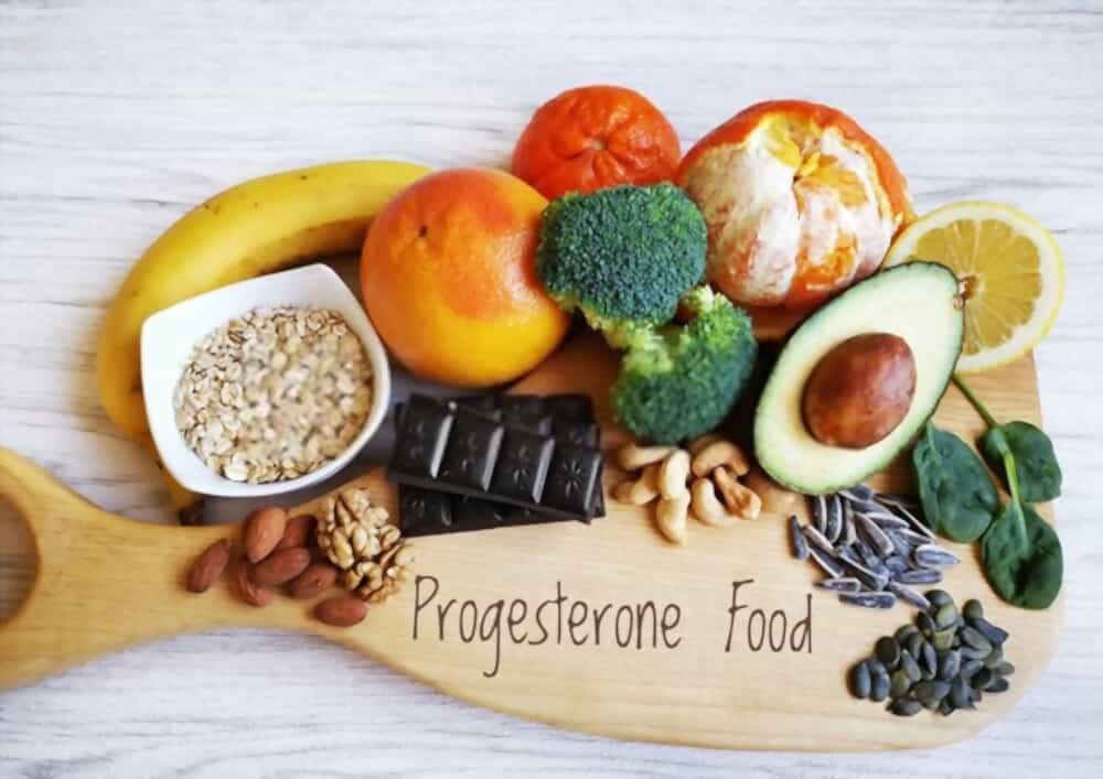 Progesterone rich food