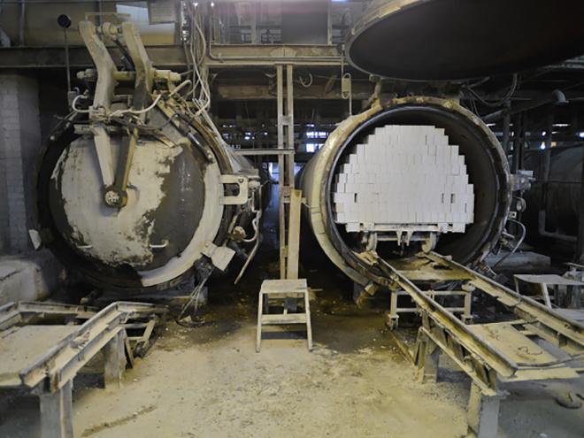 автоклав для обработки силикатных заготовок