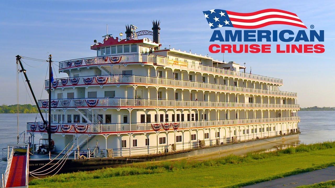 American Cruise Lines - Mississippi River Paddlewheelers - YouTube