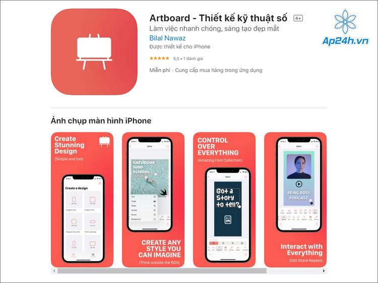 Ứng dụng iOS miễn phí cực hay cho dân thiết kế