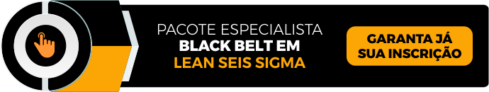 curso black belt lean seis sigma