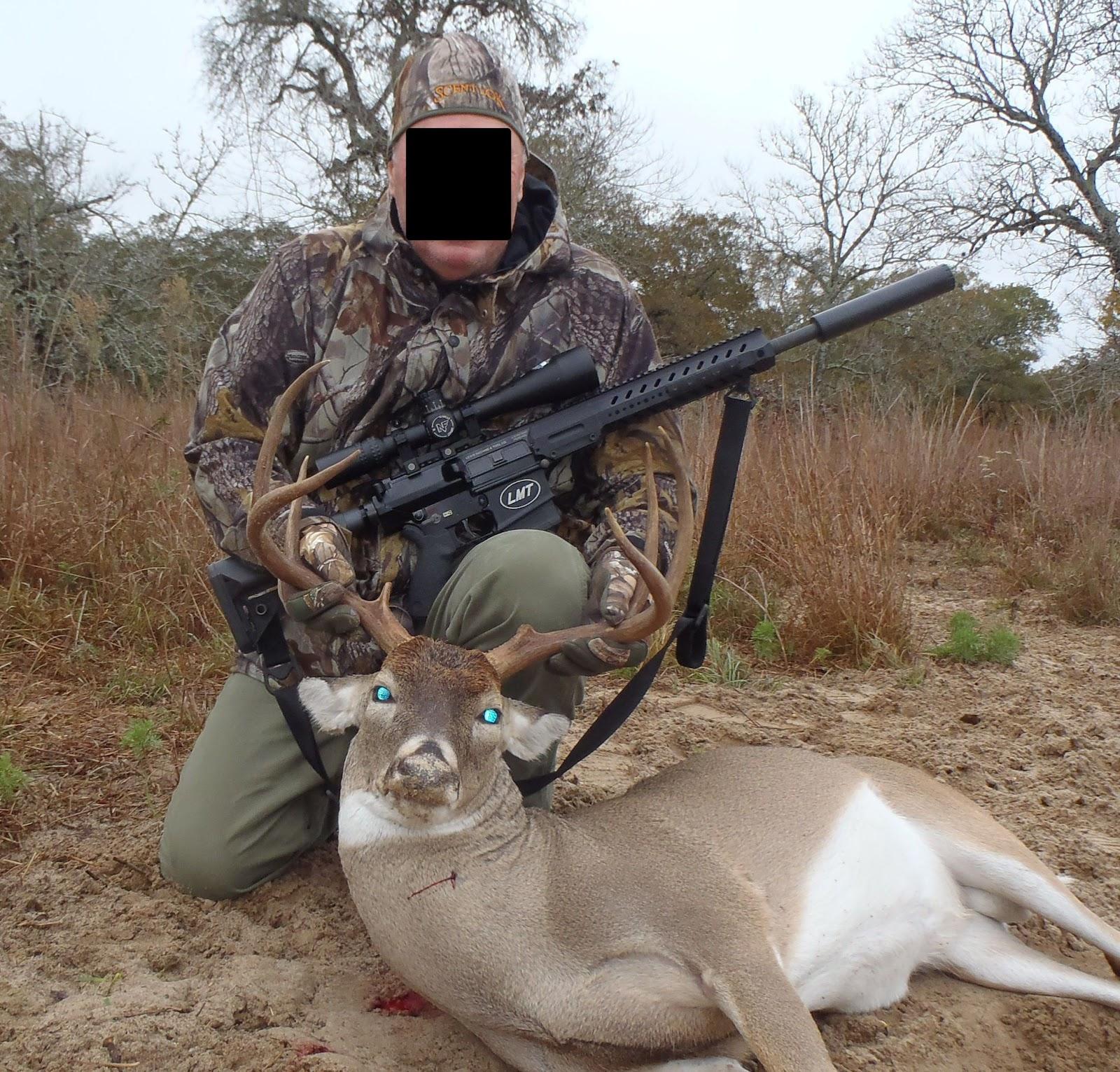 AR-10 LMT Rifle hunter