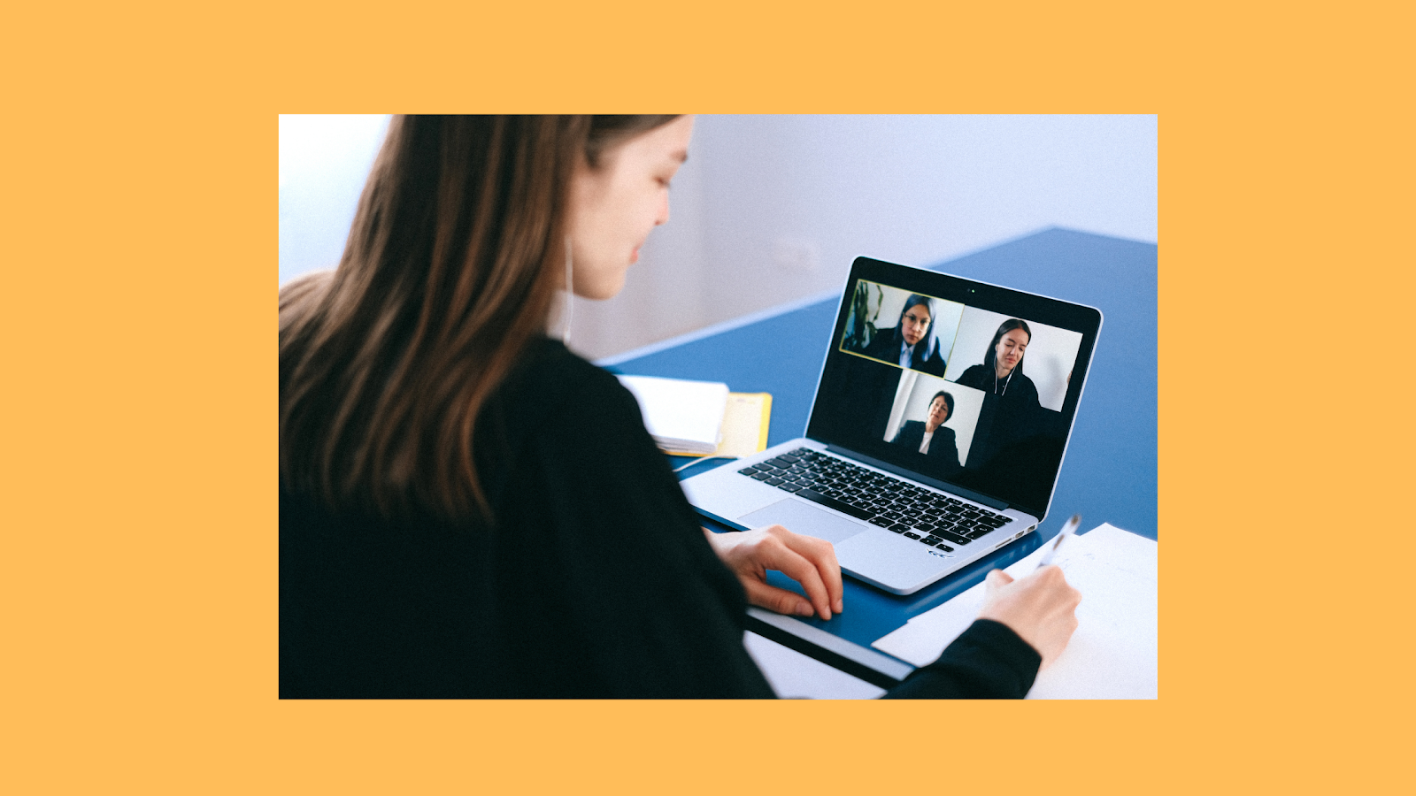 Conduct video calls and conferences