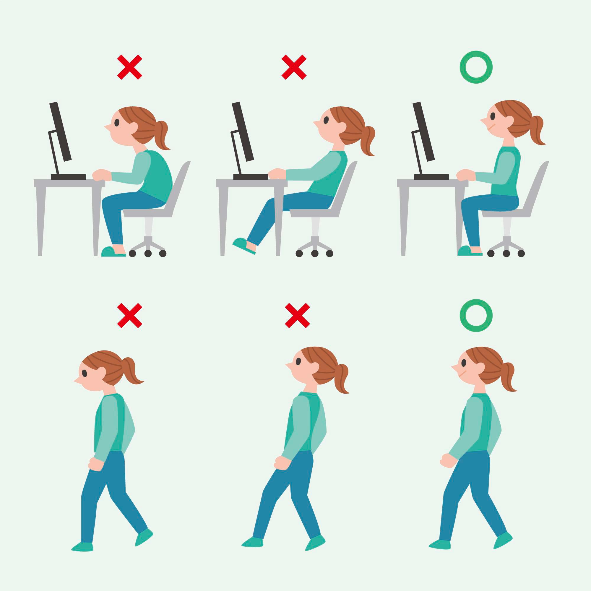 Mesas y sillas ergonómicas