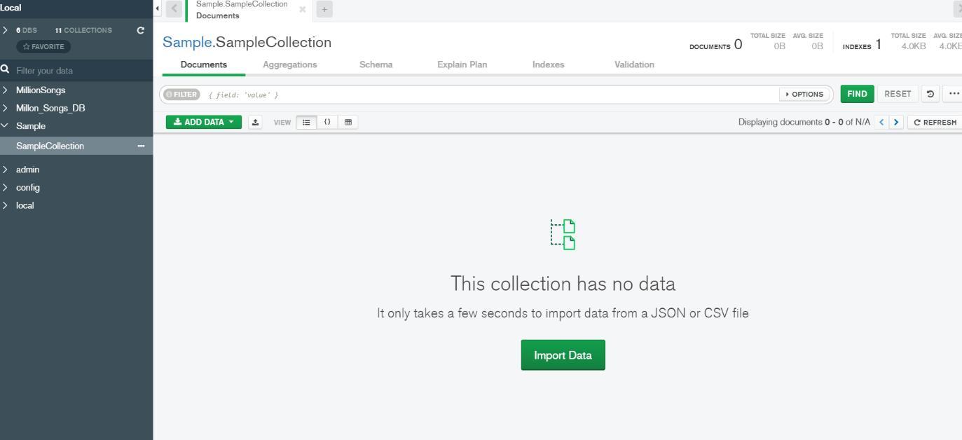 Import Data Button
