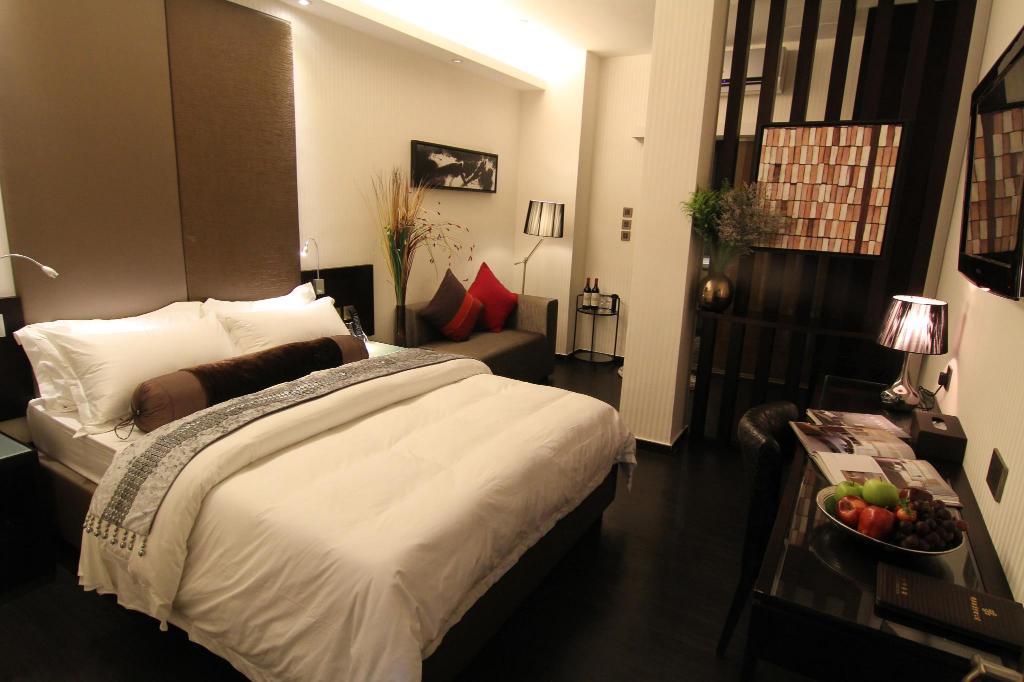 九龍塘時鐘酒店-陶庭酒店-雙人床