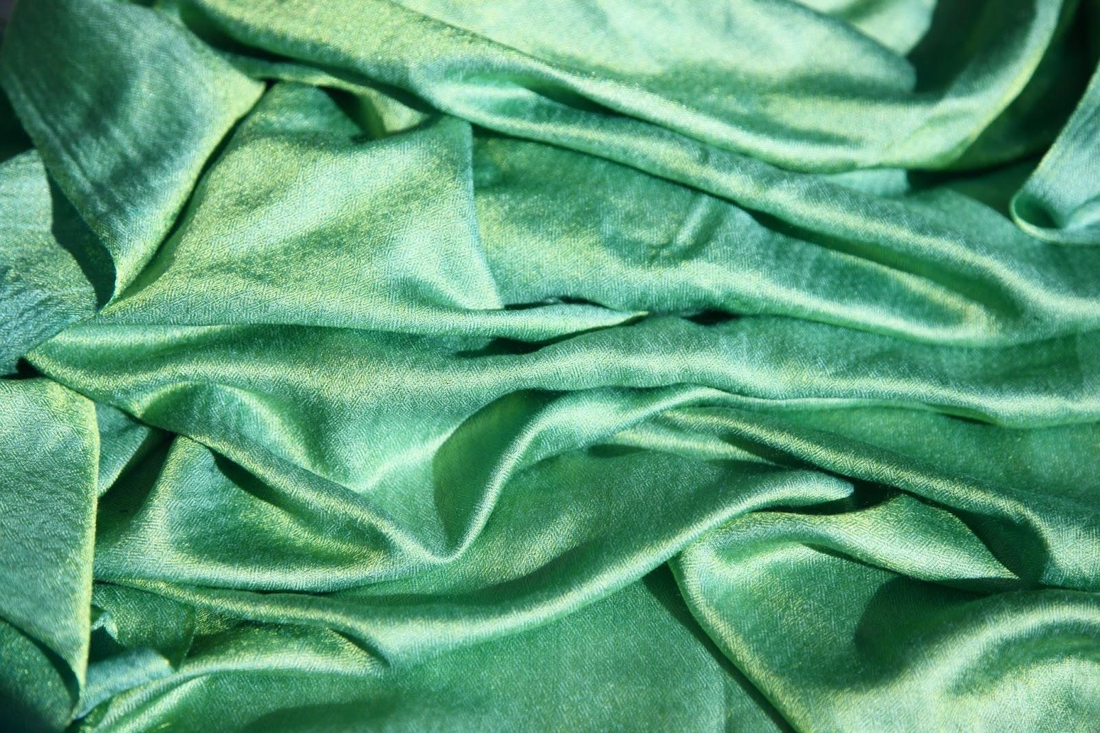 green viscose fabric