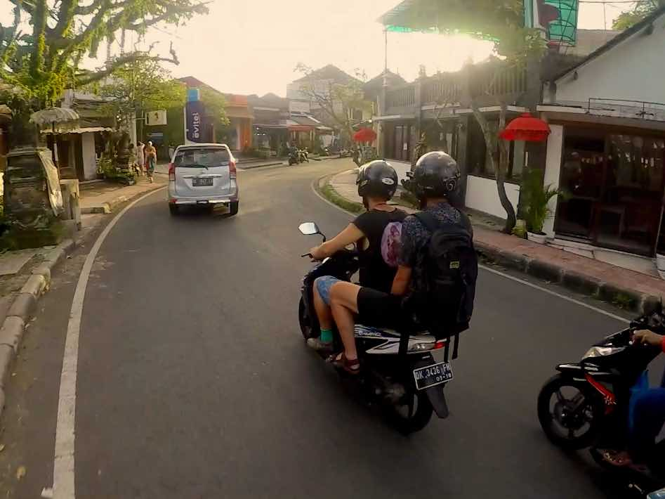 Safety Tips Rent Scooter Bali