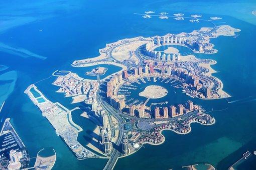 ArtificialIslands, Qatar, Doha