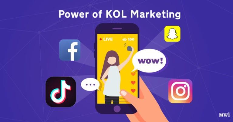 Benefits of KOL marketing
