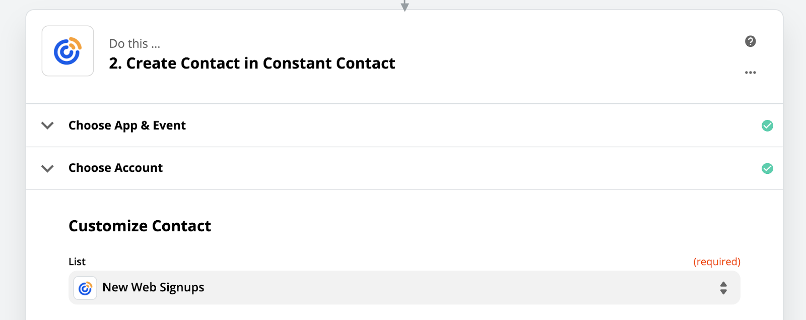 constant contact subscriber email